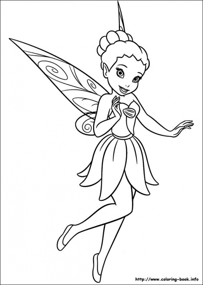 Get This Free Tinkerbell Coloring Pages to Print 65902 !
