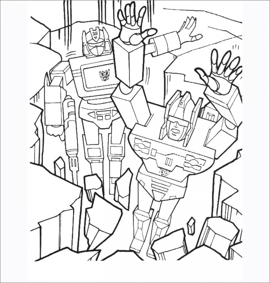 Get This Free Transformers Coloring Pages to Print Out 05862 !