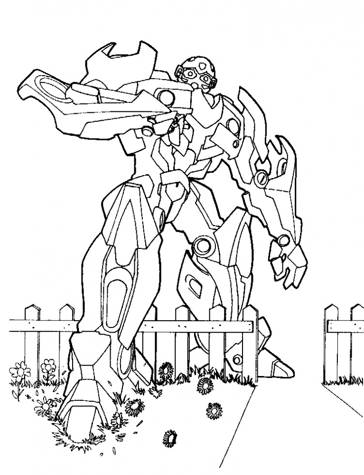 Get This Free Transformers Coloring Pages to Print Out 72356 !