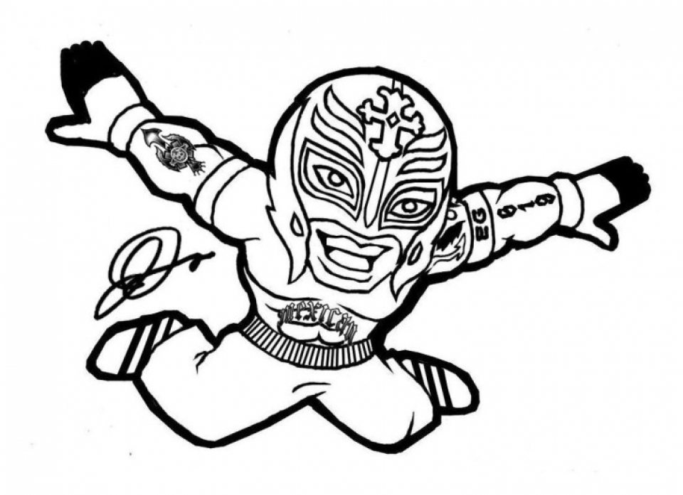 free wwe coloring pages 20034 - Realistic Werewolf Coloring Pages