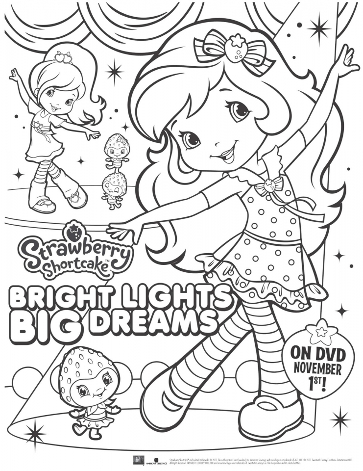 Online Cars Coloring Pages 29098 Fun Strawberry Shortcake For Girls 27401