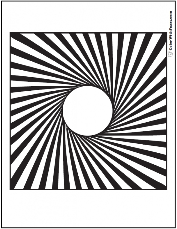 Get This Geometric Coloring Pages Free Printable 38805