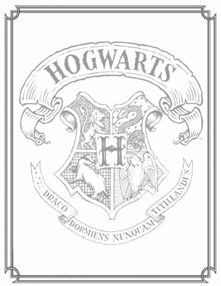 Get This Harry Potter Coloring Pages For Teenagers 16472