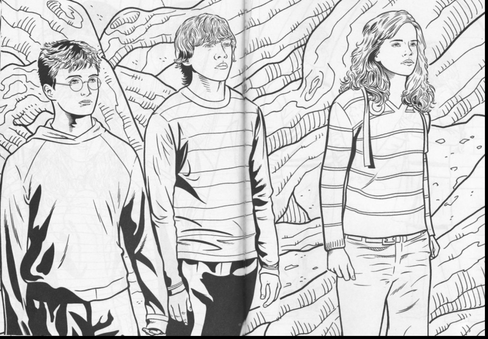 Get This Harry Potter Coloring Pages Free 67381