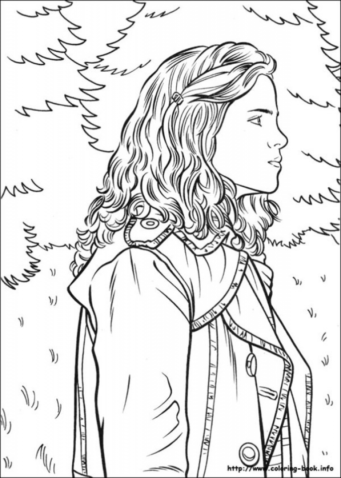 Harry Potter Coloring Pages Printable Free 11884