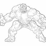 Hulk Coloring Pages Kids Printable 31850