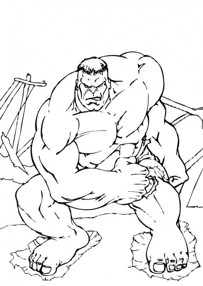 Get This Hulk Coloring Pages Kids Printable 44612 !