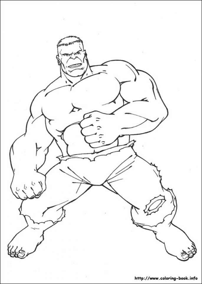 Get This Hulk Coloring Pages Marvel Avengers 41677