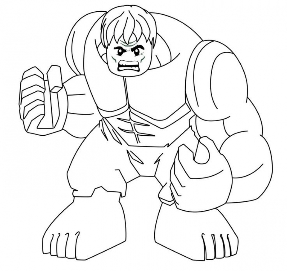 Get This Hulk Coloring Pages Superheroes Printable 57126