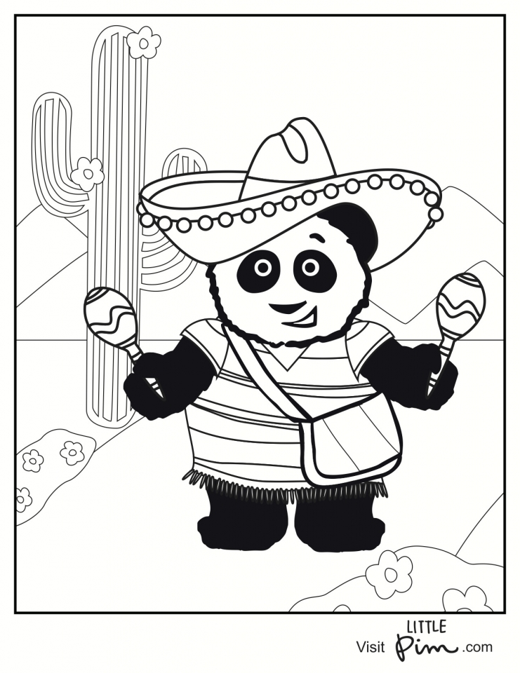 photo regarding Cinco De Mayo Coloring Pages Printable named Purchase This Young children Printable Cinco de Mayo Coloring Web pages Trip