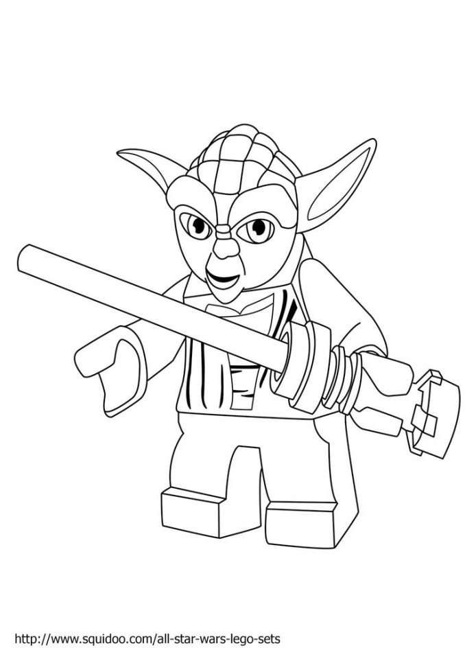 Lego Star Wars Coloring Pages Free Printable 85188