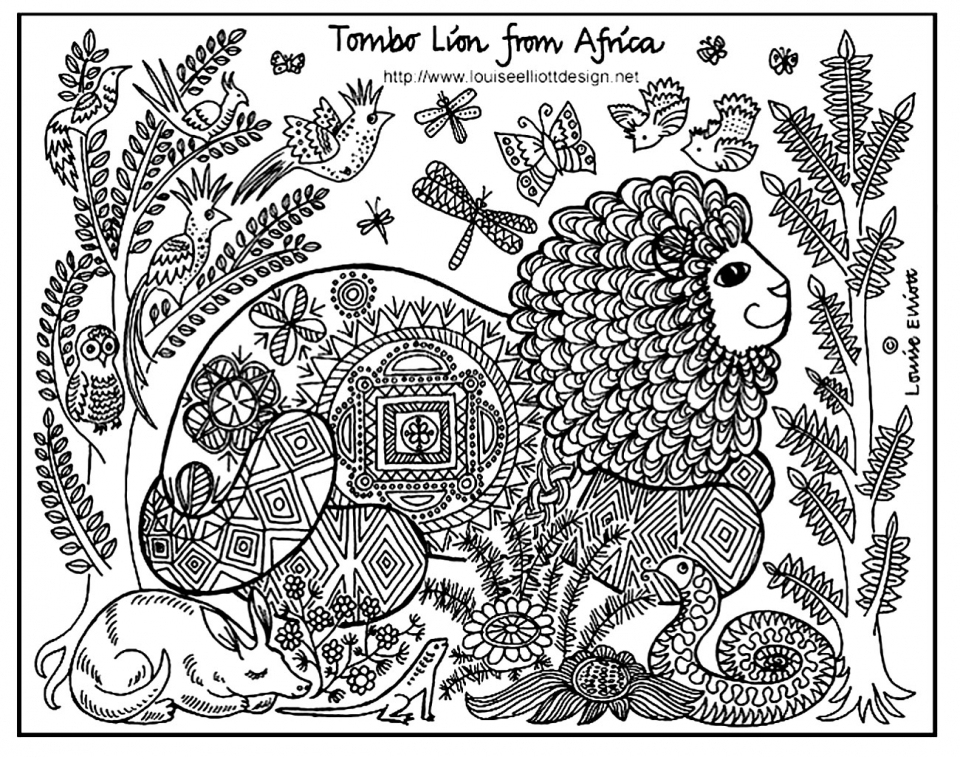 Get This Free Printable Zoo Coloring Pages For Kids 29651