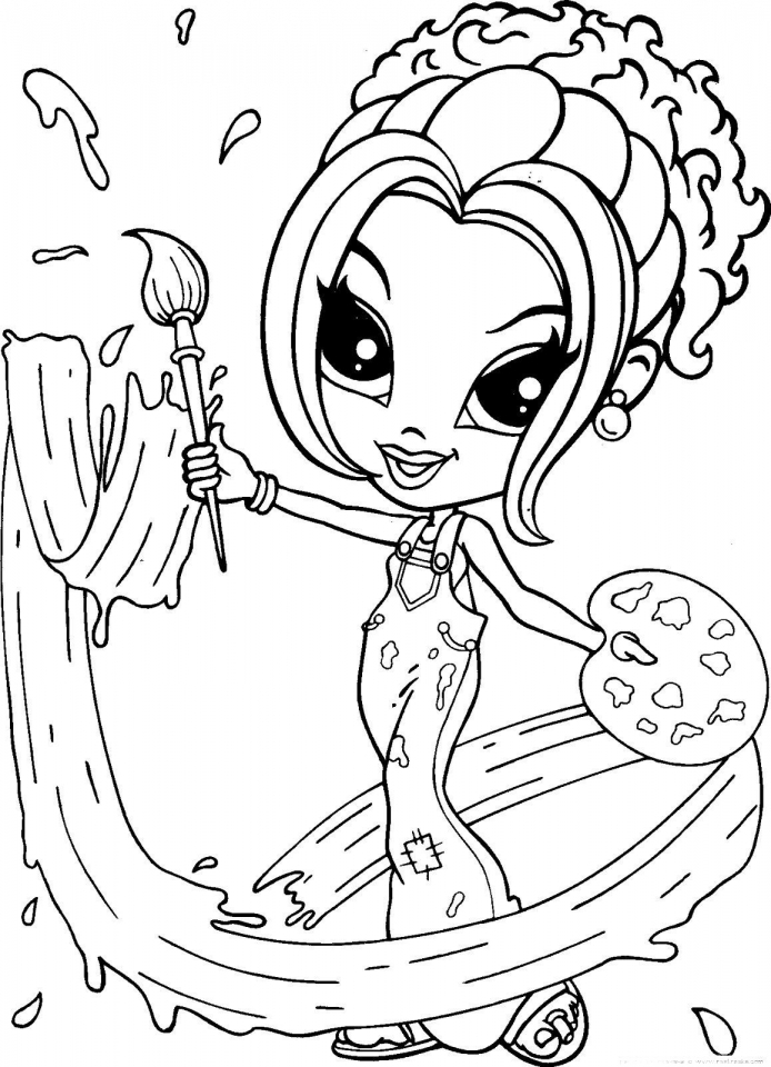 Get This Lisa Frank Coloring Pages for Teenagers 74510 !