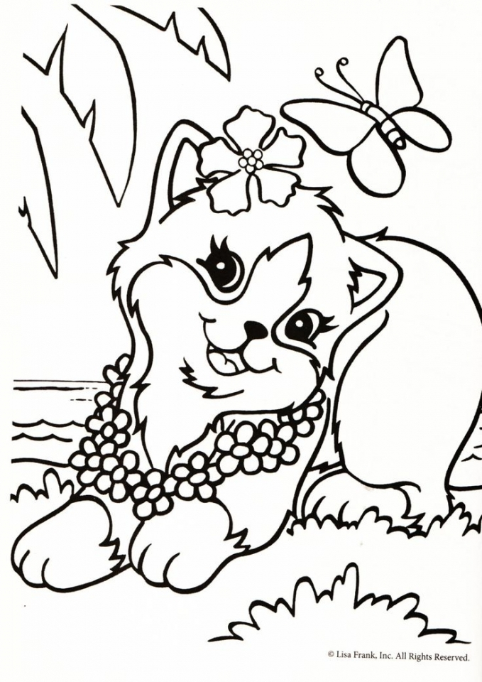 Get This Lisa Frank Coloring Pages Printable 55311