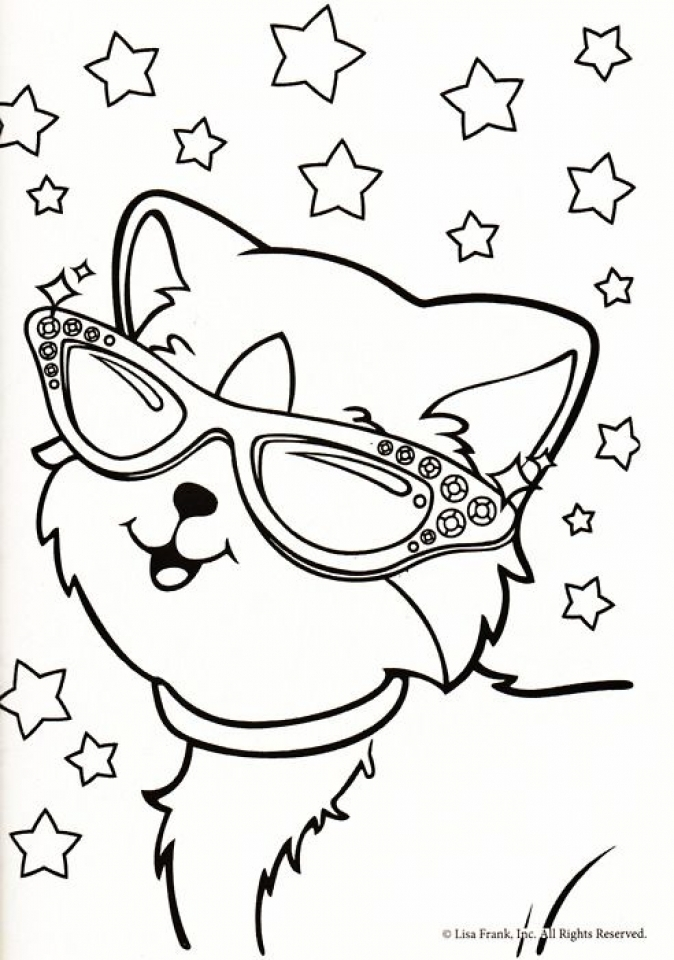 lisa frank coloring pages printable 96731 - Lisa Frank Coloring Pages
