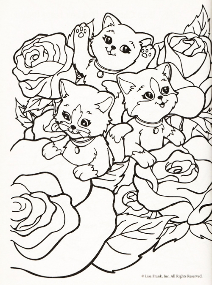 Attrayant Lisa Frank Coloring Pages To Print For Free 98612