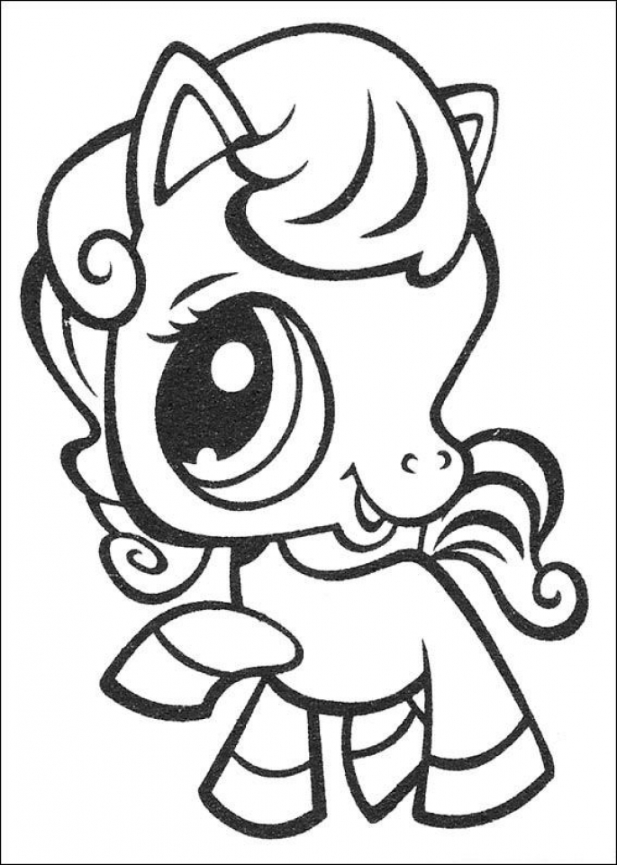 Littlest Pet Shop Coloring Pages Free To Print 38165