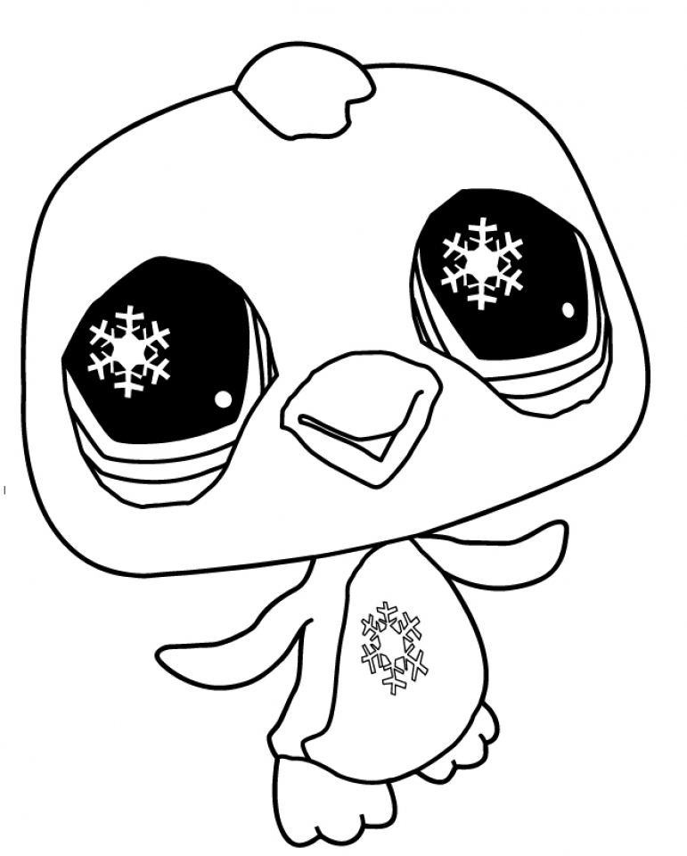littlest pet shop coloring pages free to print 48105 - Littlest Pet Shop Coloring Page