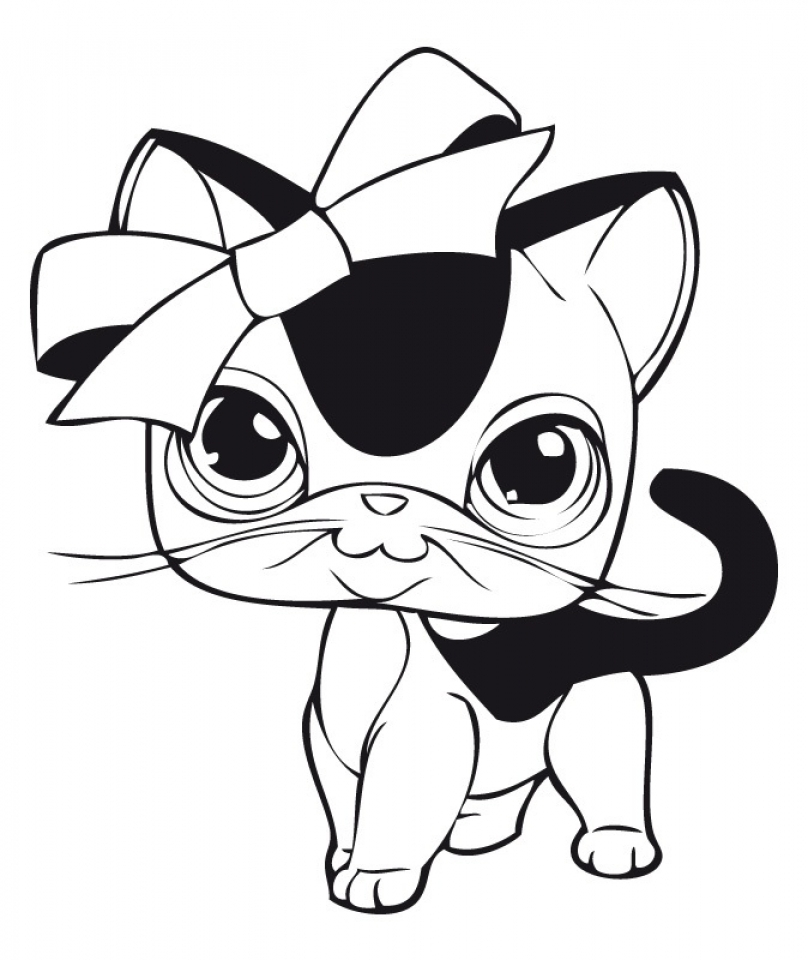 littlest pet shop coloring pages free to print 63861 - Littlest Pet Shop Coloring Pages