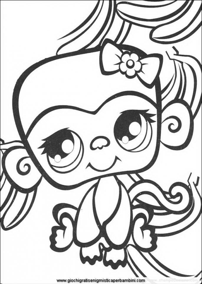 littlest pet shop coloring pages to print online 14273 - Littlest Pet Shop Coloring Pages