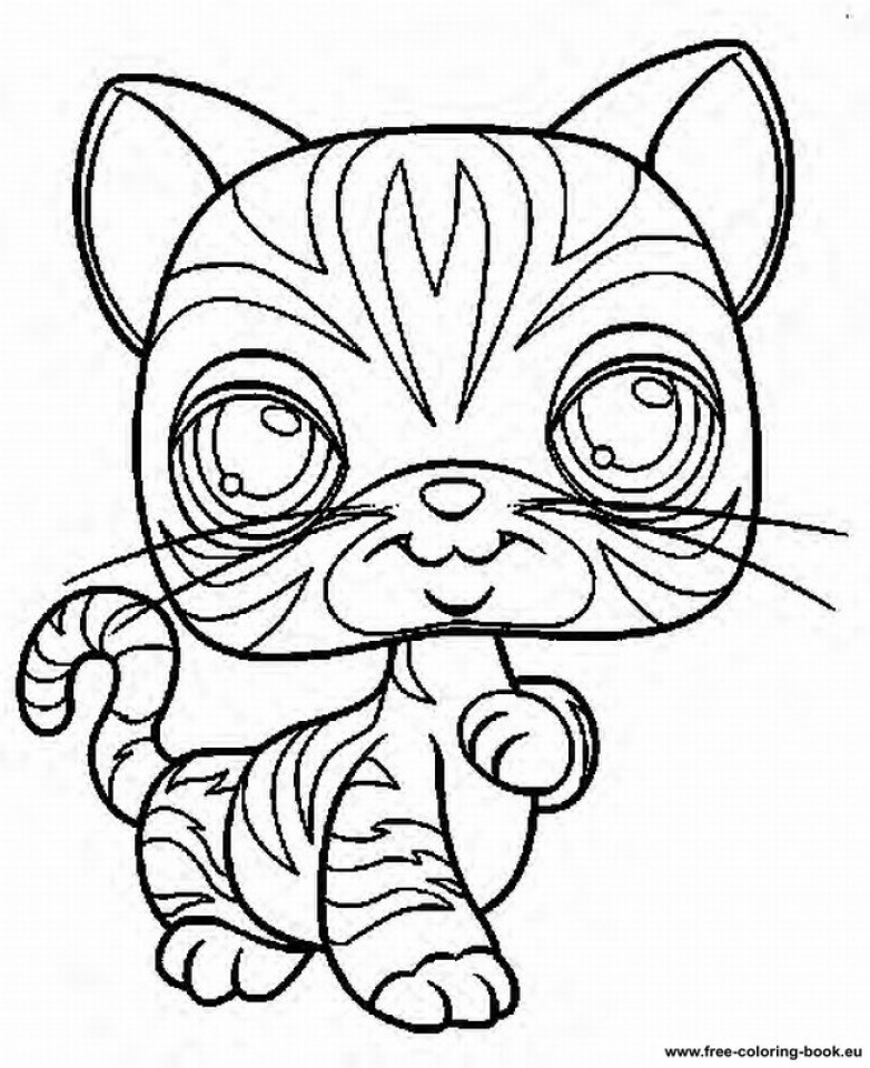 Littlest Pet Shop Kids Printable Coloring Pages 15362