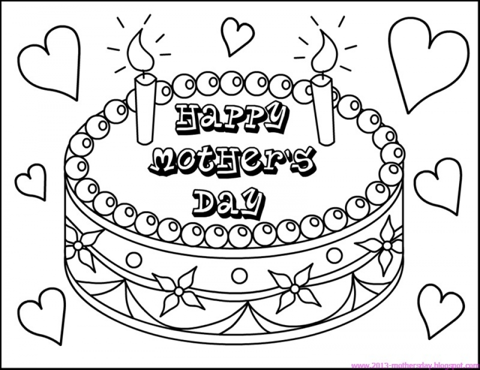 Colouring Pages For Children S Day : Get this mothers day coloring pages for kids