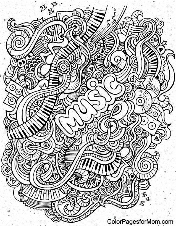 music coloring pages to print online 12603 - Music Coloring Pages