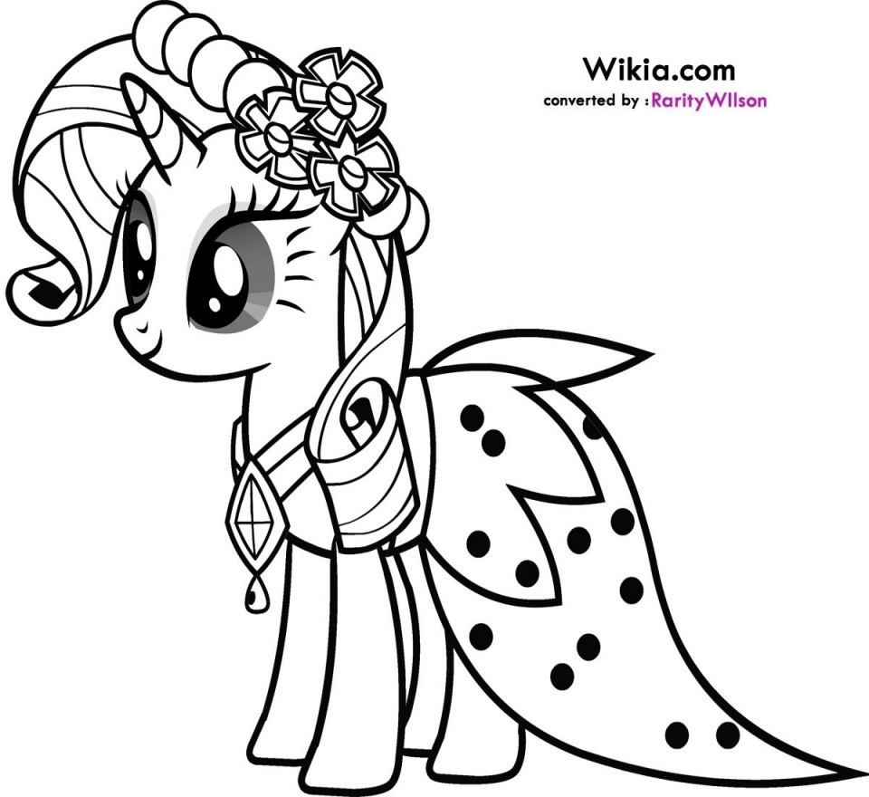 Get This My Little Pony Girls Printable Coloring Pages 50180