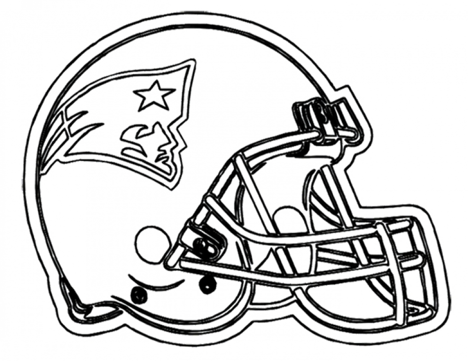Get this nfl football helmet coloring pages free to print for Football color page