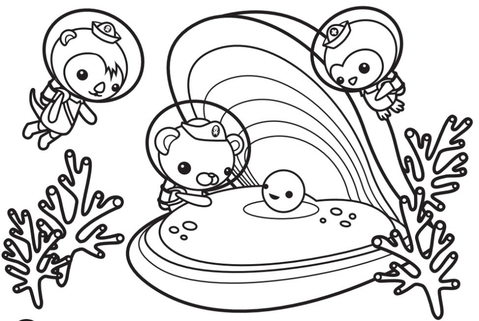 Get This Octonauts Coloring Pages Free 31750