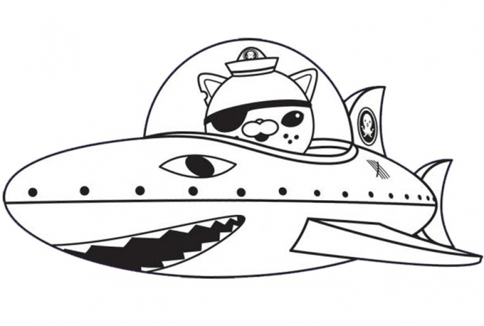 Get This Octonauts Coloring Pages Printable 15275