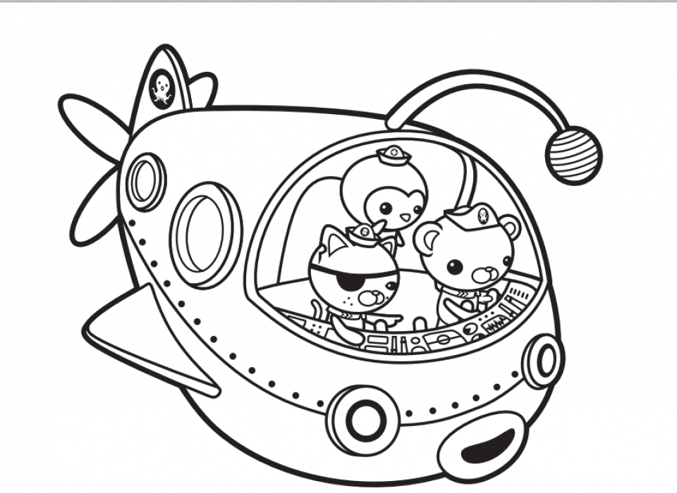 Get This Octonauts Coloring Pages Printable 31616 !