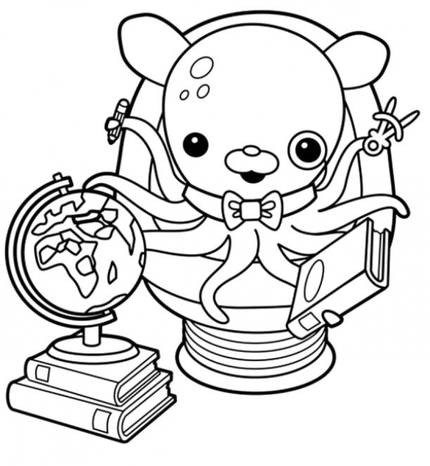 Get This Octonauts Coloring Pages to Print Out 31466 !
