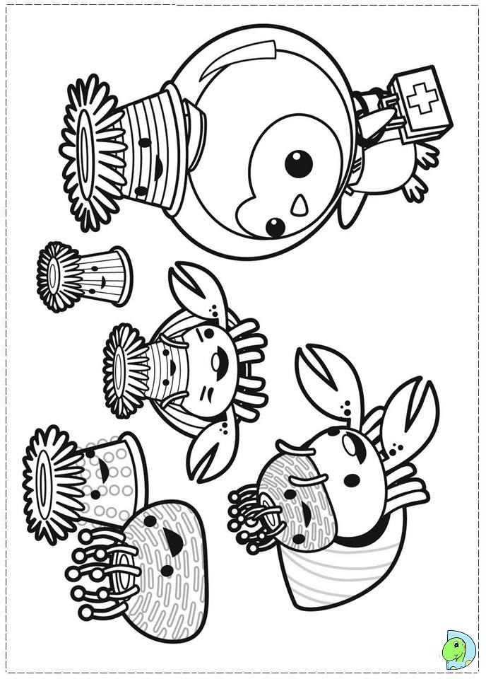 Get This Octonauts Coloring Pages to Print Out 52774 !