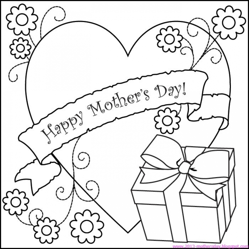 get this online mothers day coloring pages to print 40802