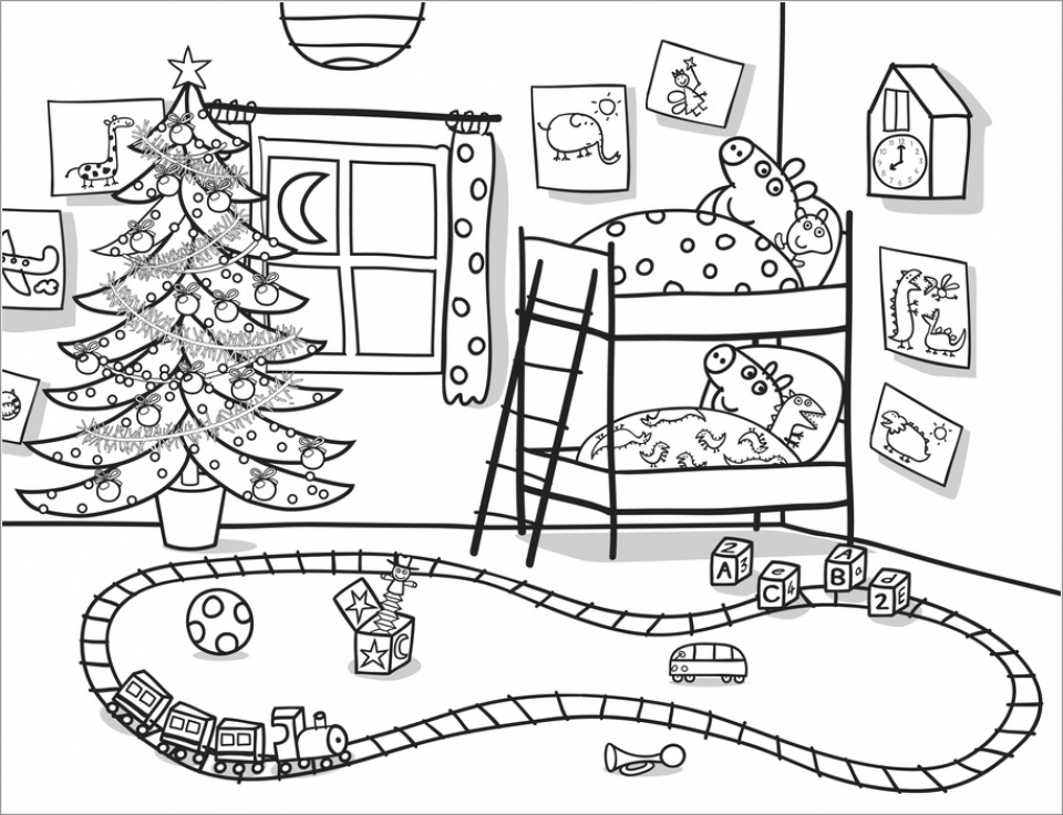 Get This Online Peppa Pig Coloring Pages 63038 !