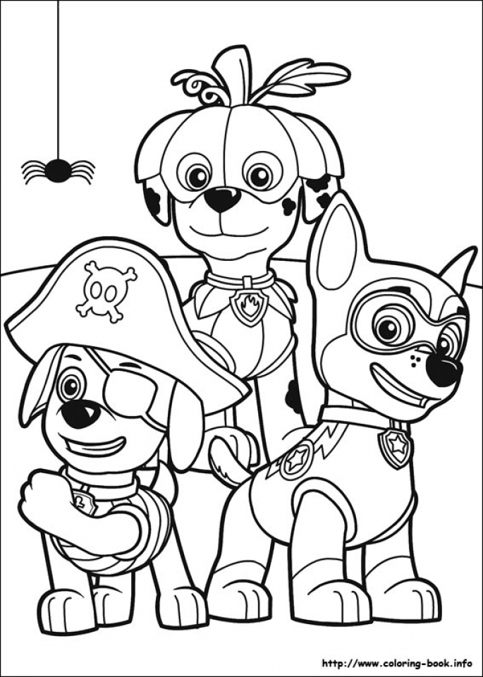 Paw Patrol Coloring Pages for Kids   15286