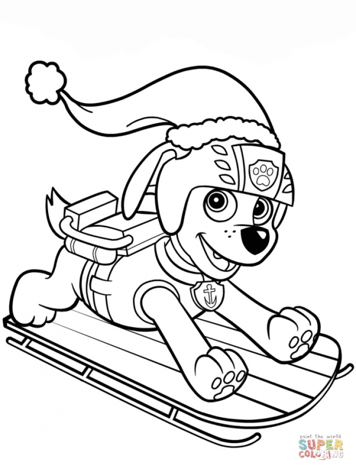 Disney Paw Patrol Coloring Pages : Get this paw patrol coloring pages for kids