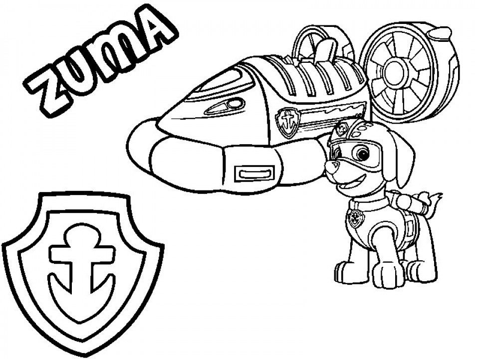 Get This Paw Patrol Coloring Pages for Preschoolers 73256