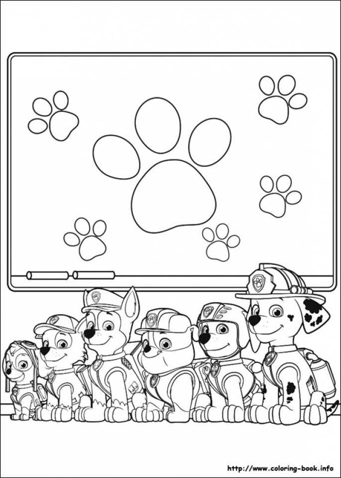 Get This Paw Patrol Coloring Pages Free Printable 89047