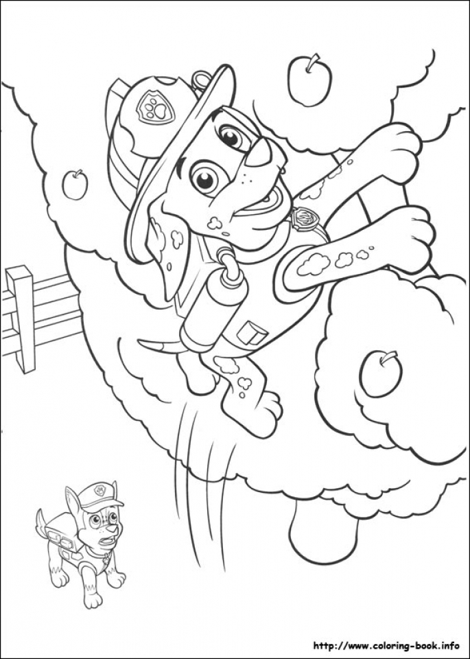 Paw Patrol Coloring Pages Free to Print   84782