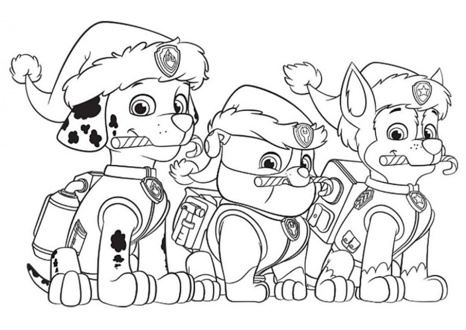 Get This Paw Patrol Preschool Coloring Pages to Print Online 21704