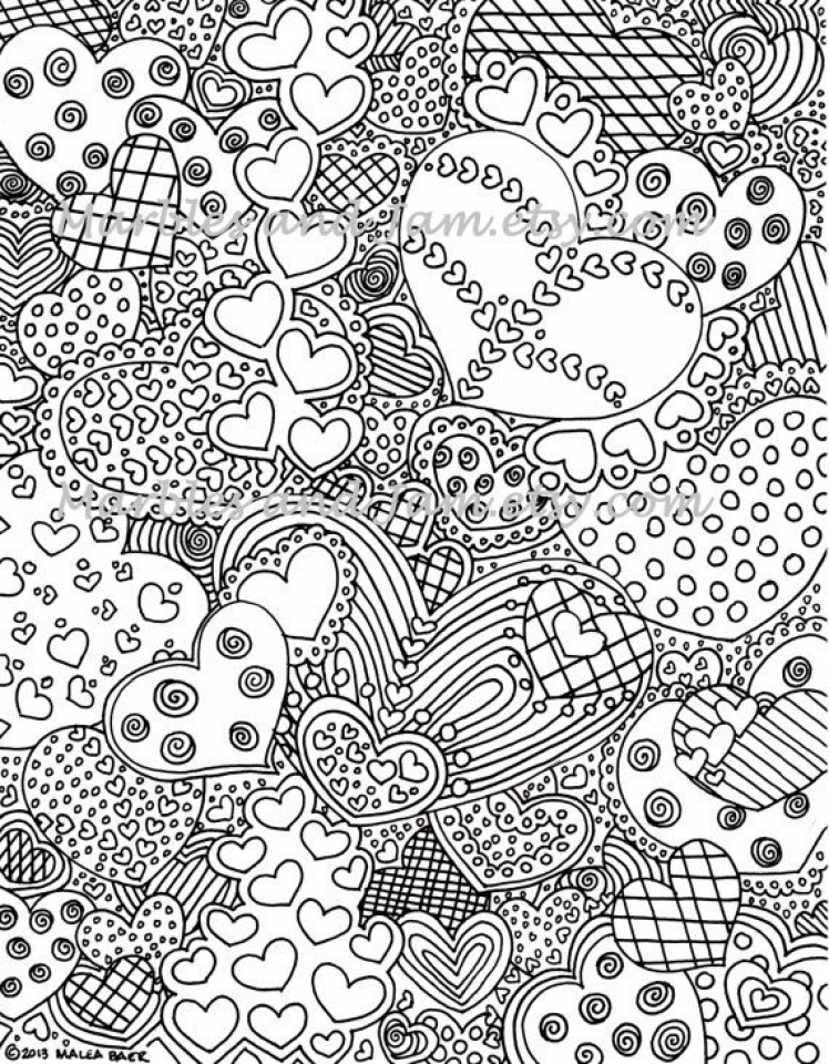 Get This Printable Abstract Coloring Pages Online 36271