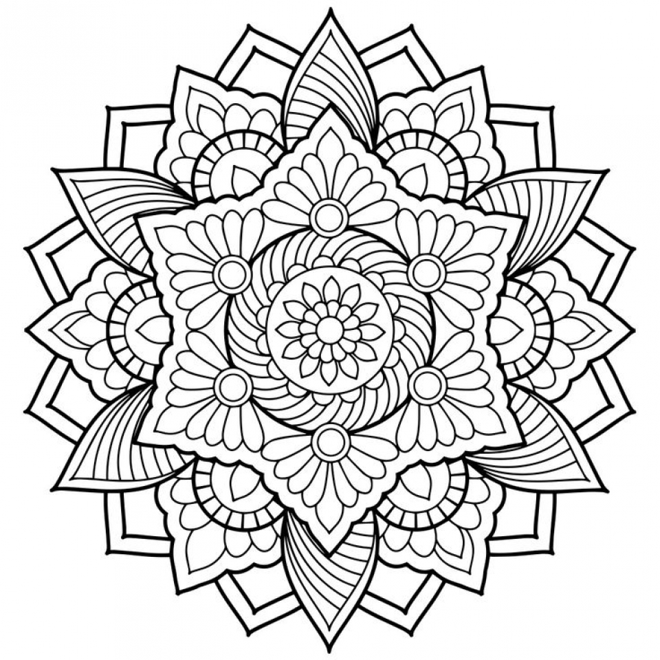 Get This Printable Abstract Coloring Pages Online 42671
