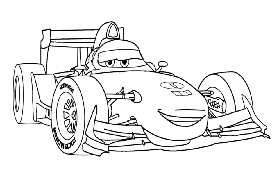 Get This Printable Cars Coloring Pages Online 89887