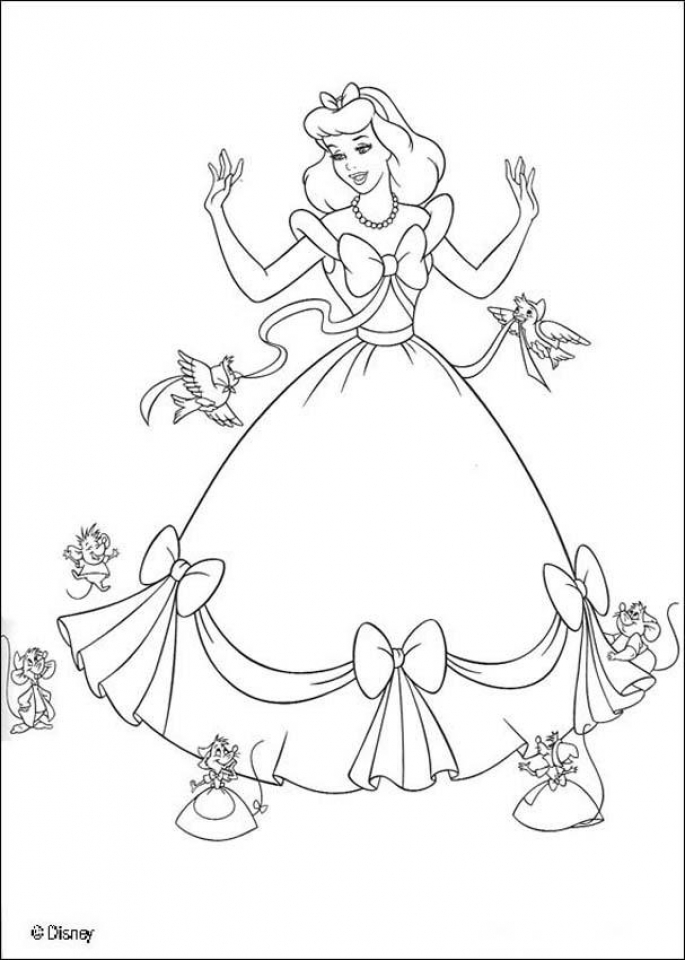 Get This Printable Cinderella Coloring Pages 16530 !
