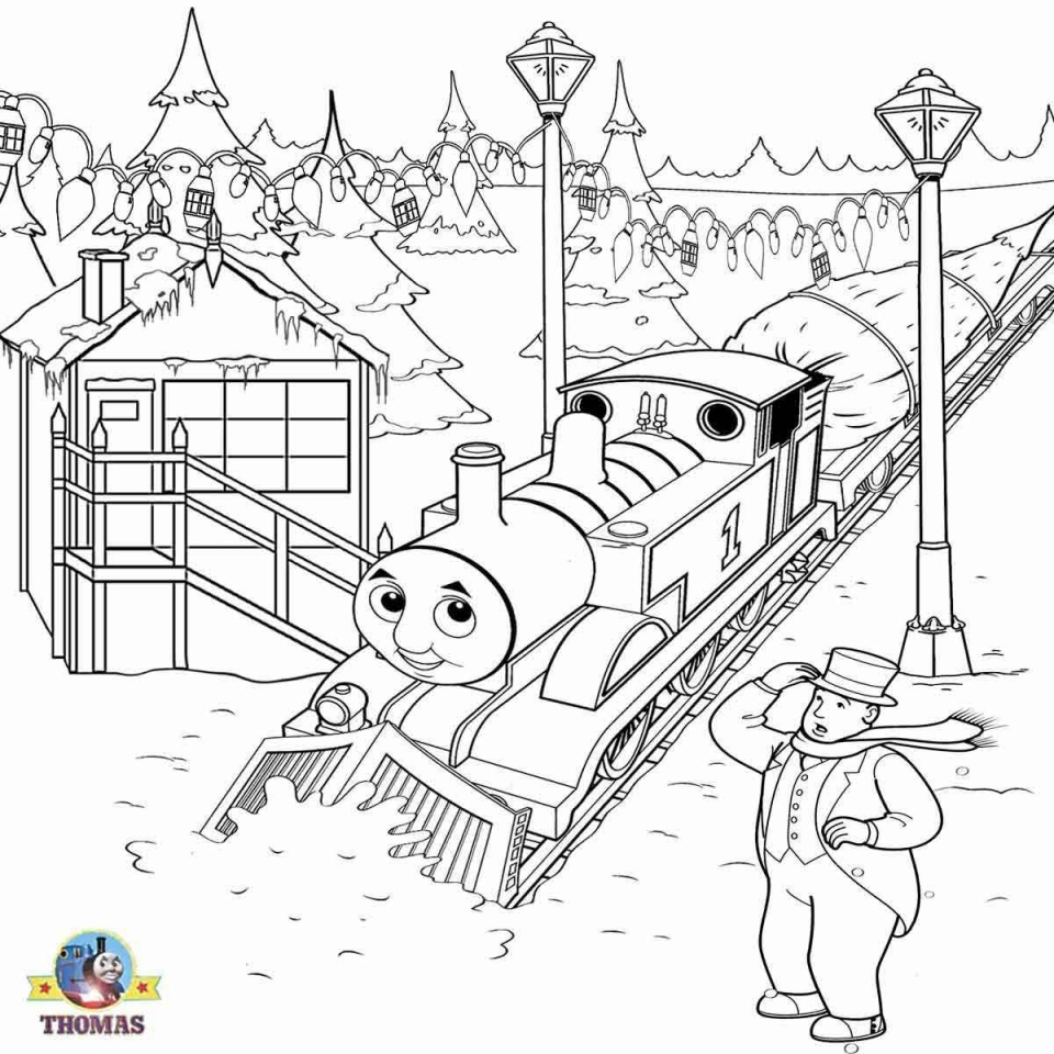 Get This Printable Coloring Pages of Thomas the Train 27659 !