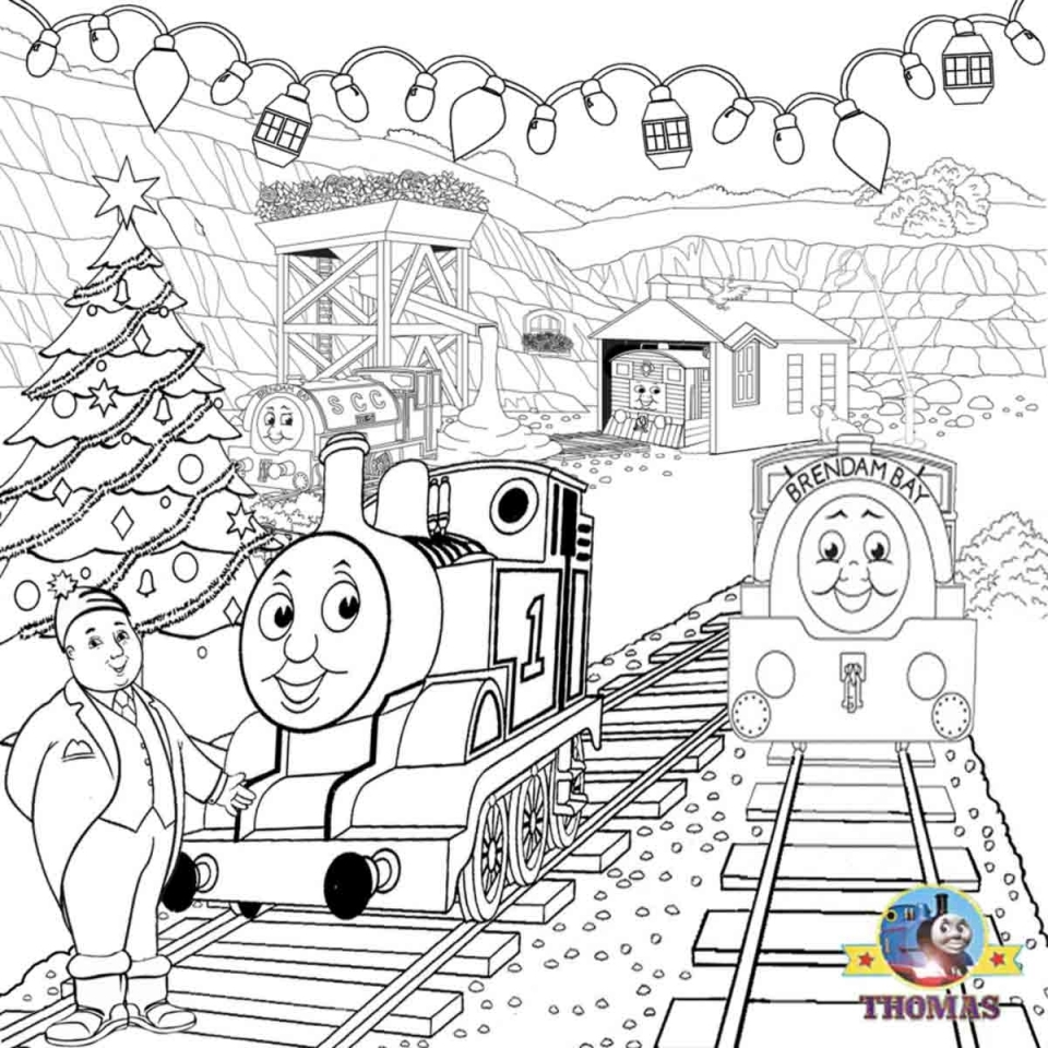 Get This Printable Coloring Pages of Thomas the Train 50071 !