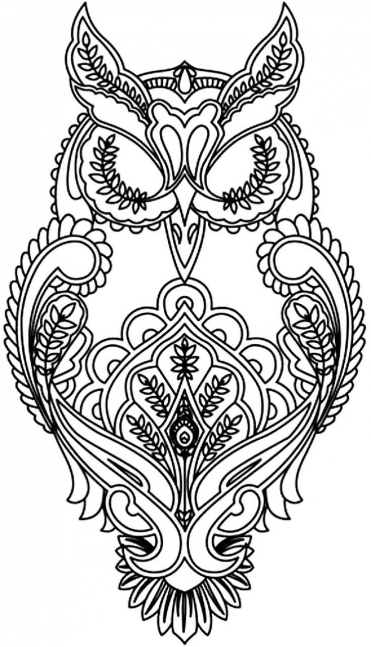Get This Printable Difficult Coloring Pages for Adults 85672