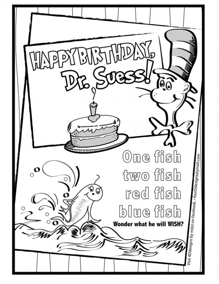 Get This Printable Dr Seuss Coloring Pages Online 26217
